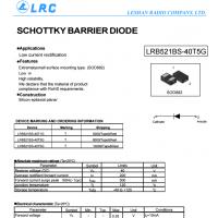 LRC肖特基LRB520S-40T1G