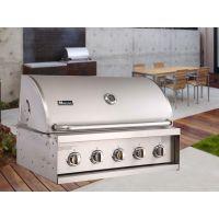 Miecns/美诺仕A315S-BM 304不锈钢嵌入式别墅烧烤台 抛光内嵌式燃气烧烤炉 现货