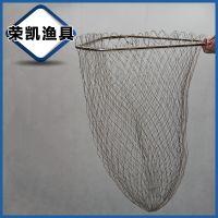 生产供应 不锈钢球拍网大抄网头 渔具网台钓抄网头