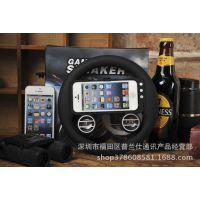 苹果5创意音响 iphone5游戏方向盘 手机游戏赛车专用配件新款