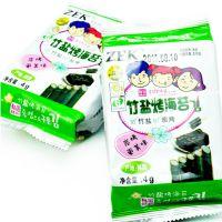 韩国进口零食 ZEK竹盐烤海苔15gX24包/箱 儿童即食紫菜批发