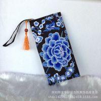 原创民族风 凤凰热卖绣花钱包手拿包女新款帆布刺绣布包零钱包