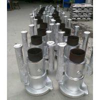 金属模铸造铝件,铝重力浇铸,钢模砂芯