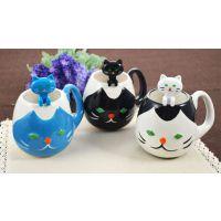 咖啡杯 杯勺两件套 咖啡杯套装 陶瓷水杯 办公杯定制