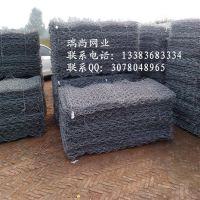 供应镀锌铁丝石笼网 格宾防洪网厂家六角边坡防护网