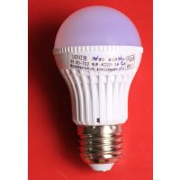 信德电子 厂家直销 D50 LED声光控球泡灯 D50声光控LED球泡灯