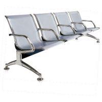 天津办公家具营业厅医院银行公共场所座椅铁办公椅子不锈钢三人位连排座椅排椅