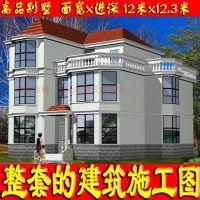福州重庆隆鑫美式小别墅设计图