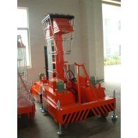 启运新款套缸式升降机 电动液压机 移动式举升机高空作业车