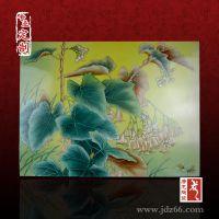 陶瓷瓷板画 高档礼品陶瓷瓷板画