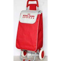 定做折叠购物车拉杆买菜车礼品小拖车广告购物车便携行李车印LOGO