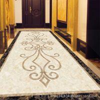 厂家直销地板砖拼花 瓷砖地板砖客厅拼花 陶瓷拼花地板砖瓷砖地面