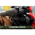 Flexible 18650 Li-on Rechargeable Led Camping Lights With USB Portable Charger