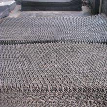 钢板网片 钢板网墙 脚手架脚踏网