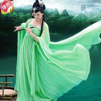 厂家供应特价古装服古装剧演出服古代服装古典舞蹈古装仙女演出服