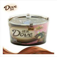 DOVE德芙 巧克力 什锦拼盘碗装3口味249g 牛奶+香浓黑+榛仁葡萄干