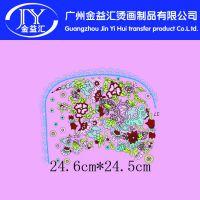 广州烫画厂家供应 围裙花纹图案热转印热升华烫画