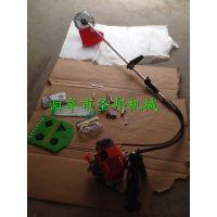 园林修理多功能汽油割草机 圣邦家用背负式小型多用割草机