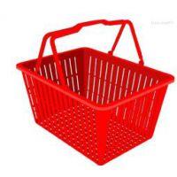 超市购物筐/超市手提筐/超市塑料筐——【兴旺】