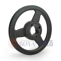 花冠发电机皮带轮采购spa280-01选无锡帛扬锥套皮带轮厂家