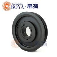 实心皮带轮采购spb112-2选无锡帛扬锥套皮带轮厂家