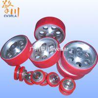 广州擎川everlar厂家直销PU红胶铝合金同步轮