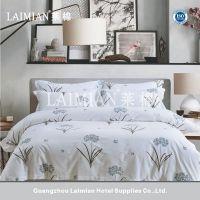 广州莱棉 假日酒店主题酒店客房专用布草 活性印花纯棉床上用品四件套