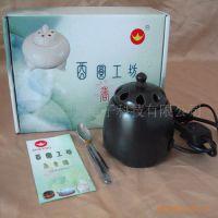供应热销黑金刚熏香陶瓷电子香薰炉沉香熏香器