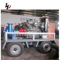 供应 柴油单级双吸离心水泵机组 柴油机消防泵 大流量