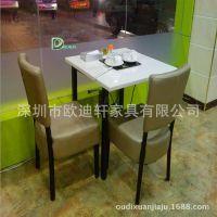 欧迪轩自助火锅餐厅大理石烧烤桌餐桌椅 卡座沙发餐桌 &