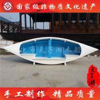 专业定制3.5米沙发装饰船 欧式船 小木船 木船摆件 尺寸可定制