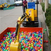 卖什么游乐设备最赚钱 儿童游乐挖掘机为您省钱加赚钱 济宁三石机械
