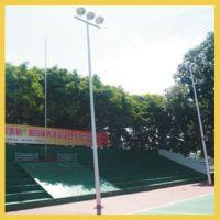 益阳户外球场照明灯杆厂家批发-安化小区篮球场灯杆围网设计安装