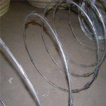 旺来刀片刺绳 防盗铁蒺藜 刺绳护栏