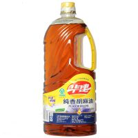 华建诚鑫2.5升纯香胡麻油 山西特产 富含a-亚麻酸 厂家批发