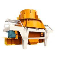 河卵石制砂机生产机制砂成本多少?PCL-900A冲击式制砂机出口