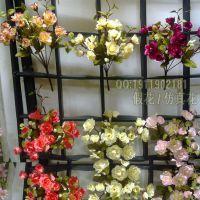 欧式14头杜鹃 仿真花批发 假花 绢花 塑料花 欧式装饰 花束  混批