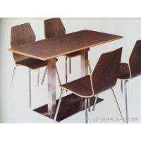 北京沃尔美厂家批发弯曲木餐桌椅、餐厅曲木椅。