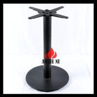 多年专业生产销售高档餐厅餐桌铸铁桌脚台脚桌腿等餐厅家具五金件