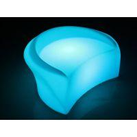 新款LED时尚桌子 夜光总酒吧家具 LED客厅发光沙发 户外热销沙发