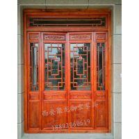 西安松木门窗│仿古实木门窗│古建门窗│实木家具供应