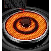 恩搏双灶触控红外线燃气灶生产厂家承接OEM订单