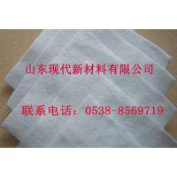 涤纶长丝150g白色土工布产品报价山东现代土工布销量领先