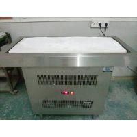 炒冰台 大理石炒冰机 冰淇淋炒冰冷柜 雅绅宝CBT12定做冰柜厂家