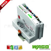 正品WAGO万可DC24V远程控制I/O模块750-333现场总线适配器