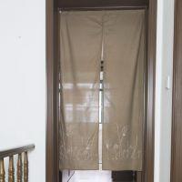 日式和风纯棉绣花门帘 出口日本原单挂帘生产厂家批发销售