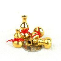 厂家直销纯铜葫芦 铜葫芦摆件 镇宅化病符星 小号 特小号 挂件