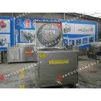 郑州电加热油炸机厂家 新型油水分离油炸机