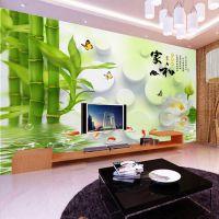 江西南昌大型壁画背景墙厂家供应防水防污3D电视背景墙无纺布壁纸