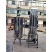 上三环保直供立式硅藻土过滤机SSLS400-A 食品级镜面抛光 严格执行卫生标准